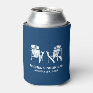Adirondack Beach Chairs Dark Blue | Wedding