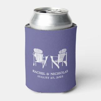 Adirondack Beach Chairs Dark Lavender | Wedding