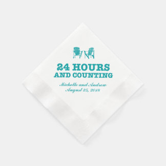 Adirondack Chairs | 24 Hours and Counting Disposable Serviette