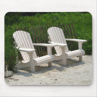 Adirondack Chairs Mouse Pad