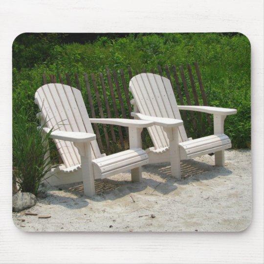 Adirondack Chairs Mouse Pad