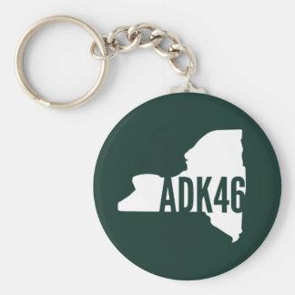 Adirondack High Peaks Keychain