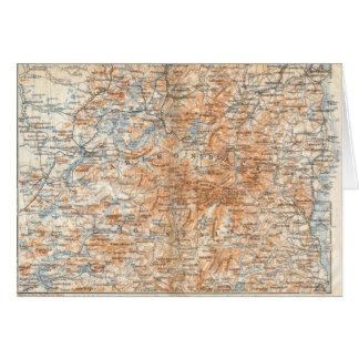 Adirondack Map Card