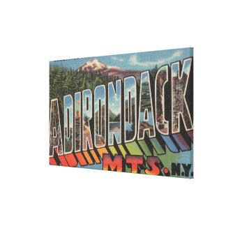 Adirondack Mountains, New York Canvas Print