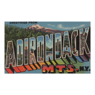 Adirondack Mountains, New York Poster
