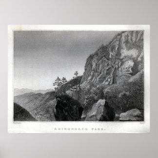 Adirondack Pass Poster