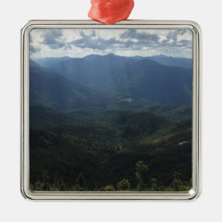 Adirondack Range from Giant Mountain Christmas Ornament