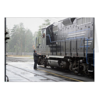 Adirondack Scenic Railroad Greeting Card