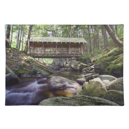 Adirondacks Covered Bridge Placement Placemats