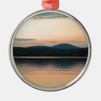 Adirondacks Long Lake Sunset Christmas Ornament