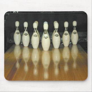 adirondak bowling pins mouse pad