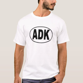 ADK Euro Oval T-Shirt
