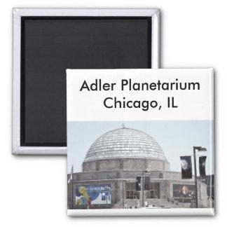 Adler Planetarium - Chicago, IL Square Magnet