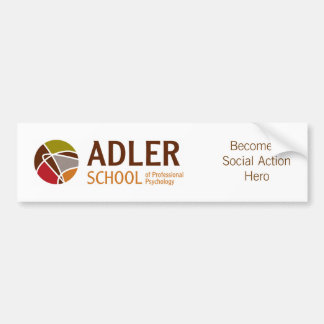 Adler School Bumper Sticker 1