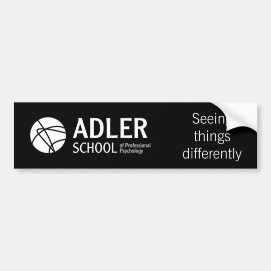 Adler School Bumper Sticker 2