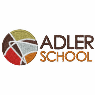 Adler School Embroidered Polo Shirt 1