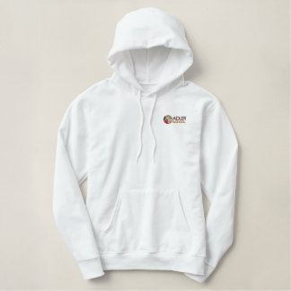 Adler School Embroidered Pullover 1 Embroidered Hoodie