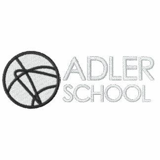 Adler School Embroidered Track Jacket 2