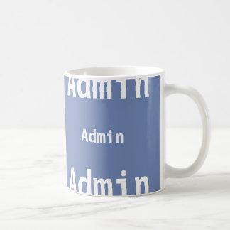 Admin mug