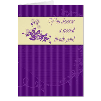 Admin Pro - Thank You Greeting Card