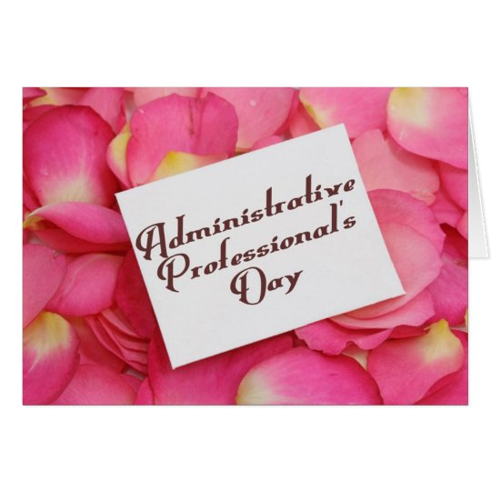 Administrative Professional's Day 3 Card