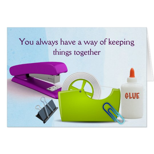 Administrative Professional's Day Card of Thanks