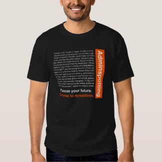 Adminspotting T-shirt