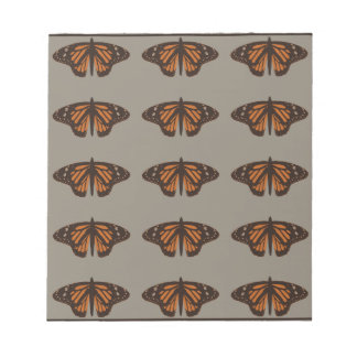 Admiral butterfly brown.png notepad