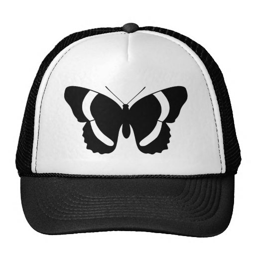 Admiral Butterfly Print Hats
