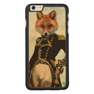 Admiral Fox Full 2 Carved Maple iPhone 6 Plus Case