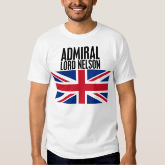 Admiral Lord Nelson T-shirts