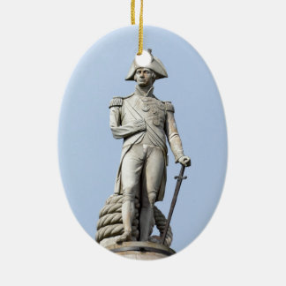 Admiral Nelson - Great Britons - Pro photo Christmas Ornament