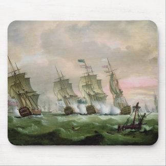 Admiral Sir Edward Hawke Mouse Pad