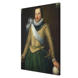 Admiral Sir Thomas Button d 1694 Canvas Print