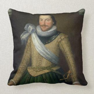 Admiral Sir Thomas Button d 1694 Pillow