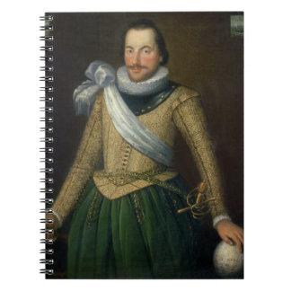 Admiral Sir Thomas Button d 1694 Spiral Note Books