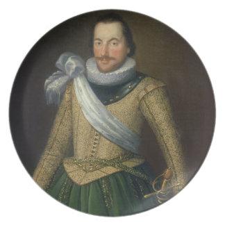 Admiral Sir Thomas Button d 1694 Dinner Plates