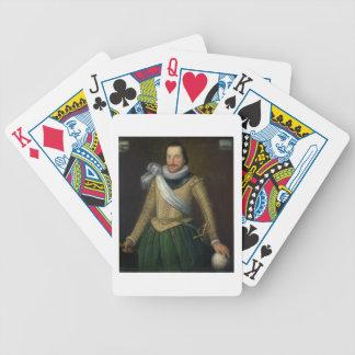 Admiral Sir Thomas Button d 1694 Bicycle Card Deck