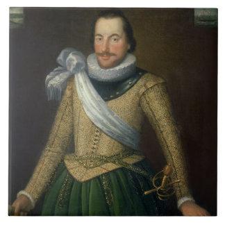 Admiral Sir Thomas Button d 1694 Ceramic Tiles