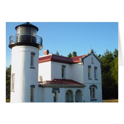 Admiralty Head Lighthouse Greeting Cards