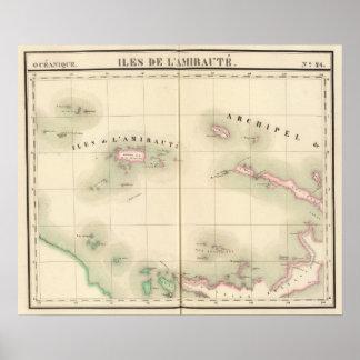 Admiralty Islands Oceania no 24 Poster