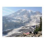 Admiring Mt. Rainier, Seattle Postcards