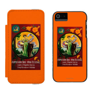 Admission Day Advertisment, State Festival Incipio Watson™ iPhone 5 Wallet Case