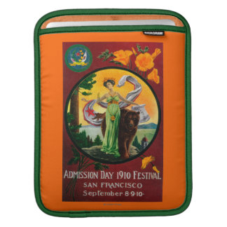 Admission Day Advertisment, State Festival iPad Sleeve