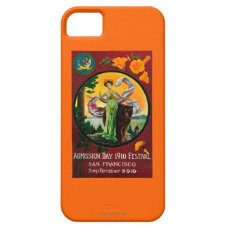 Admission Day Advertisment, State Festival iPhone 5 Cases