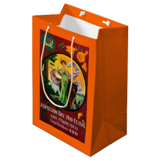 Admission Day Advertisment, State Festival Medium Gift Bag