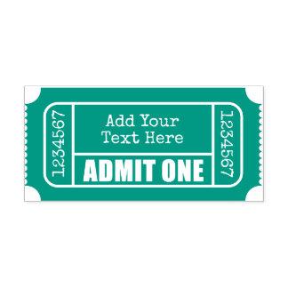 Admit One - Movie Ticket Self-inking Stamp