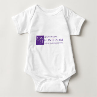 ADMTEI full logo Baby Bodysuit