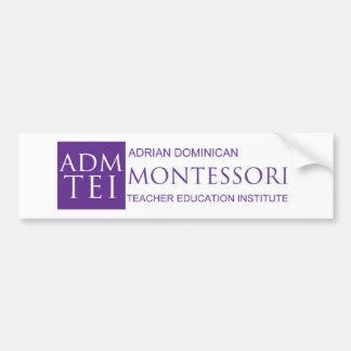 ADMTEI-logo-full Bumper Sticker