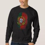 ADN Português (DNA) - Tugas Camisas e Presentes Pullover Sweatshirt